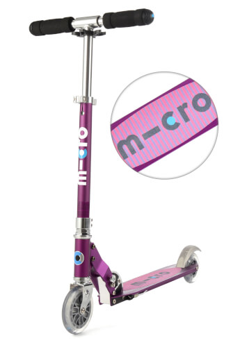 Scooter sprite special edition lila - Streifen