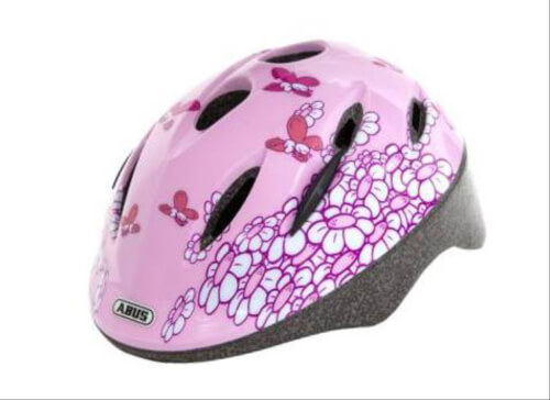 Abus Radhelm M 50-55 Smooty pink butterfly