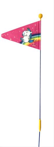Wimpel geteilt Einhorn pink, sortiert