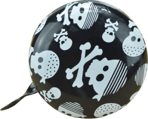 kiddimoto® Mini Klingel #6cm Skullz Pirat