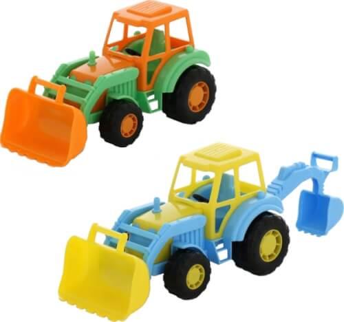 Outdoor active Traktor mit Frontlader, 2-fach sortiert
