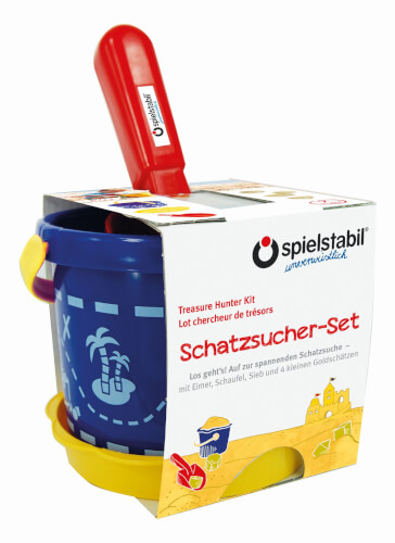 Spielstabil Schatzsucher-Set classic 7-teilig