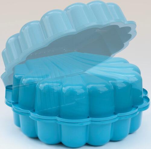 Sand/Wassermuschel 2- tlg., blau