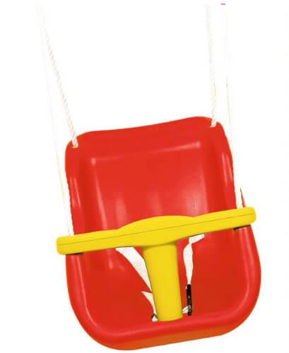 Outdoor active Baby-Schaukel Kunststoff, hohe Lehne