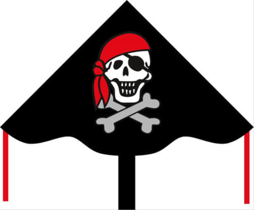 Simple Flyer Jolly Roger 85 c