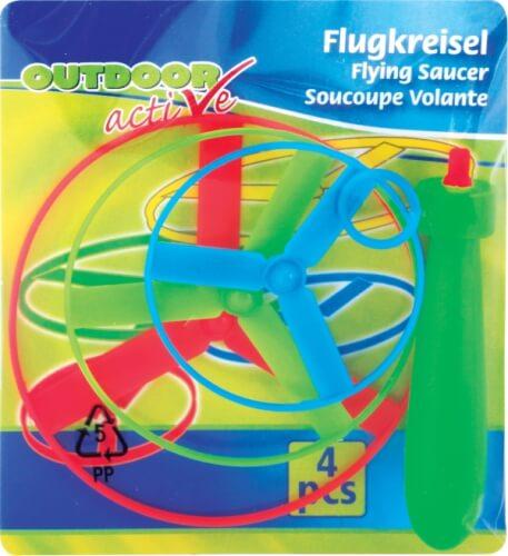 Outdoor active Flugkreisel mit 3 Rotoren