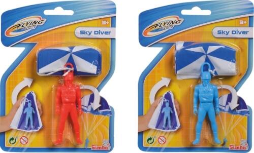 Sky Diver, Fallschirmspringer