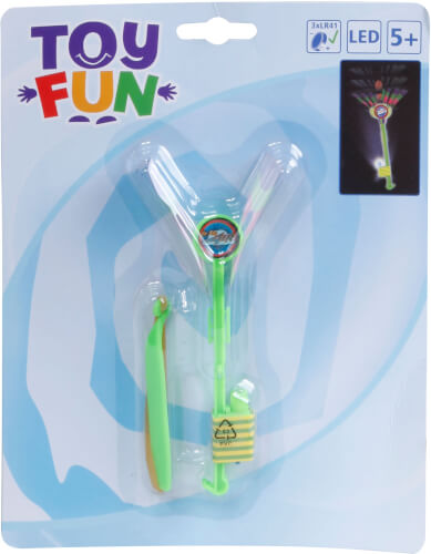 Toy Fun LED Light-Up Spinner