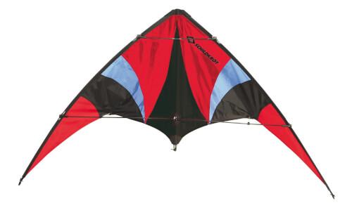 Schildkröt Funsports - STUNT KITE 140, incl. Carrybag, black-red