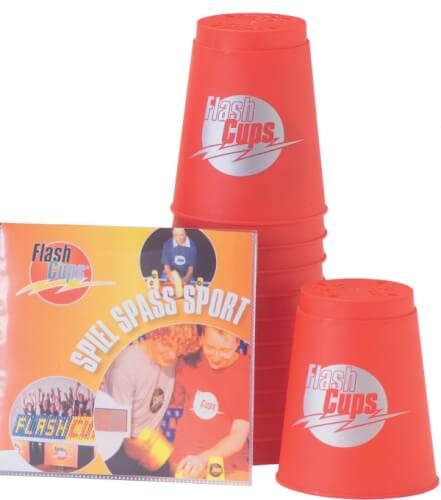 FlashCups rot mit DVD