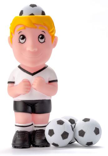 Fußball-Plopper - Header + 4 Bälle