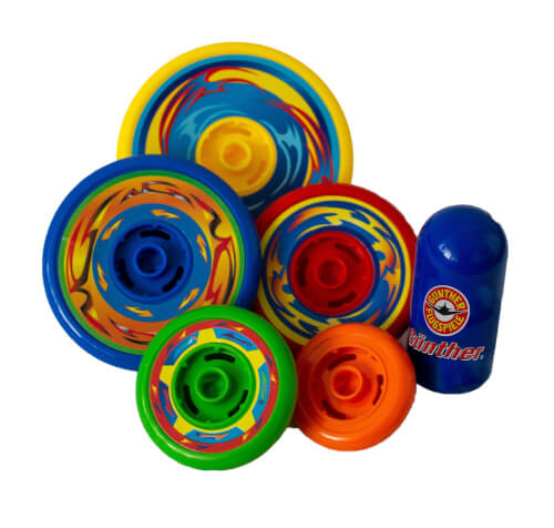 Günther Top Spin Geschicklichkeitsspiel