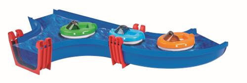 AquaPlay Motorboot sort. 18 pcs.