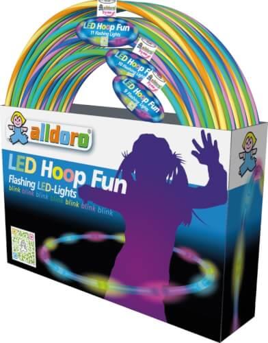 LED Hula Hoop, verschiedene Größen und Farben, sortiert