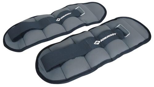 Schildkröt Fitness - GEWICHTSMANSCHETTE, 2x 1,0kg , (grey) im Carrybag