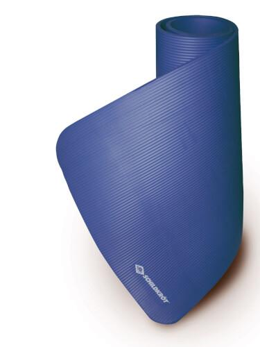 Schildkröt Fitness - FITNESSMATTE XL, (15mm, blue), mit Tragegurt