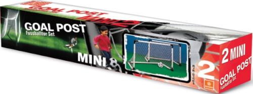 Goal Set 2 Mini-Tore mit Ball