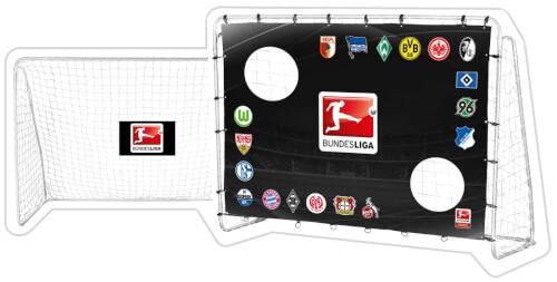 Fußballtor Bundesliga inklusive Torwand