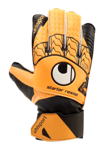 Torwarthandschuh Starter Resist Gr.5, Torwarthandschuhe, Innenhand besteht aus abriebfestem SOFT Latex, große Fangfläche