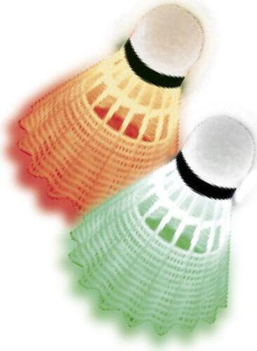 Talbot-Torro - Badminton-Ball MAGIC NIGHT LED,3er Dose Bälle mit grün+roten LED
