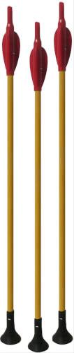 Black Flash Archery 90736 - Arcy Holzpfeil JUSA mit Saugnapf, Outdoor und Sport, 3er-Set