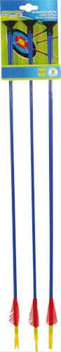 Outdoor active 3 Pfeile mit Saugnapf, Länge 59 cm