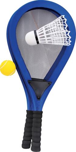 Outdoor active Jumbo-Schläger-Set mit 2 Bällen, Outdoorspielzeug, Länge ca. 67 cm, ca. 67x29,50x2,8 cm, für 2 Spieler, ab 5 Jahr