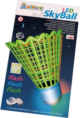 LED Federball-Ersatzbälle, sortiert