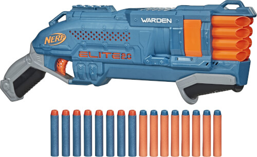 Hasbro E9959EU4 Nerf  Elite 2.0 Warden DB 8