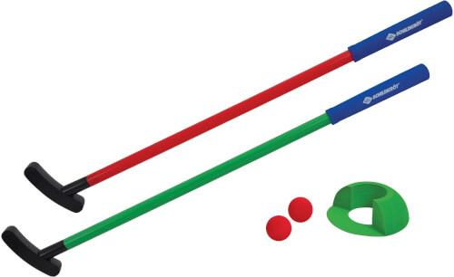 Schildkröt Funsports - MINI GOLF Set, im 4C Karton (Set für 2 Spieler)