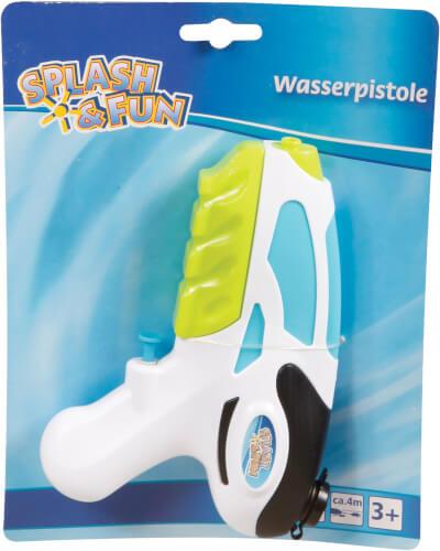 Splash & Fun Wasserpistole 18 cm, 100 ml