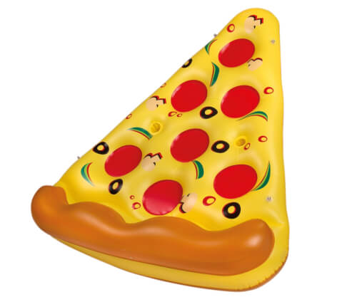 Happy People 77642 Pizza Floater, aufgebl. ca. 169 x 121 x 38 cm