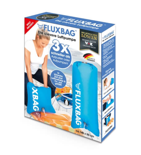 Fluxbag Luftpumpe, blau