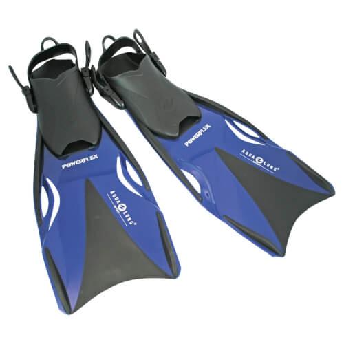 Aqua Lung Schwimmflossen Powerflex Größe 37 - 40 blau