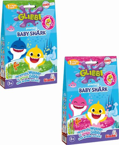 Simba Glibbi Baby Shark, sortiert