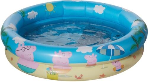 Happy People 16263 Peppa Pig Babypool, aufgeblasen ca. 74x18 cm,