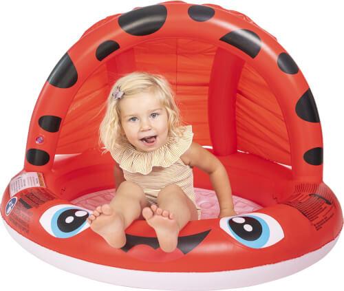 Splash & Fun Babypool Marienkäfer 92x62 cm