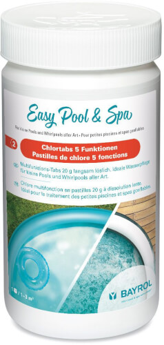 Bayrol - Easy Pool & Spa Chlortabs