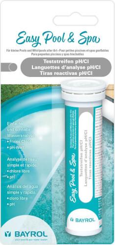 Bayrol - Easy Pool & Spa Teststreifen pH/Cl