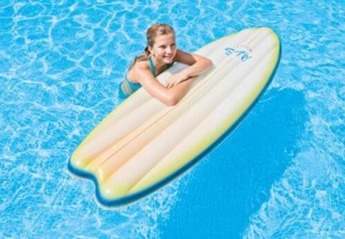 Intex Surfer ''SurfŽs Up Mats'', 2 fach sortiert, mit Fiber-Tech Struktur, 178x69cm