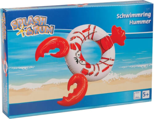 Splash & Fun Schwimmring Hummer