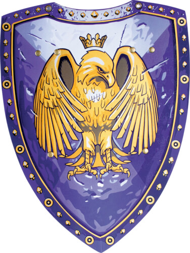 Liontouch Goldener Adler Ritterschild
