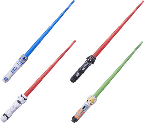 Hasbro F10375L0 Star Wars RP Lichtschwert Squad, sortiert