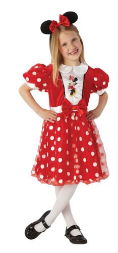 Kostüm Red Glitz Minnie Mou.Chil Gr.M