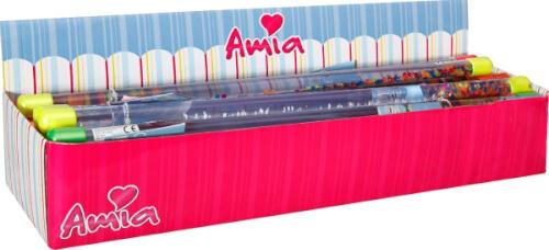 Amia Glitterstab, ca. 46 cm, sortiert