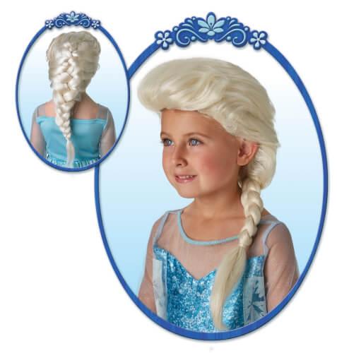 Disney Frozen Perücke Elsa für Kinder, Kostüm Zubehör