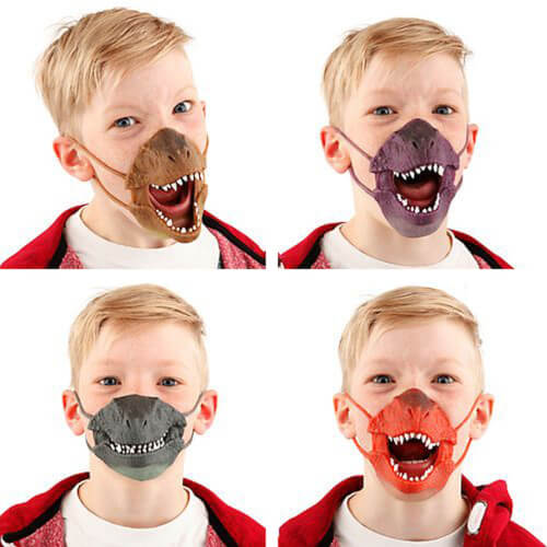 Depesche 5403 Dino World Dino Maske