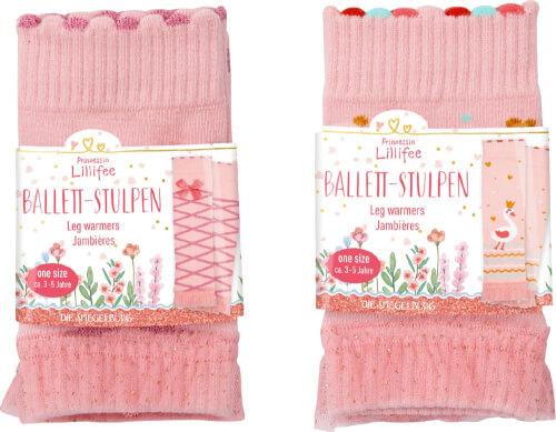 Ballett-Stulpen Prinz. Lillifee, sortiert (one size/ca.3-5 J.)