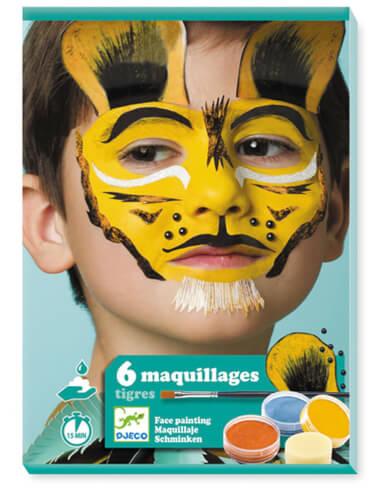 Kinderschminke Set: Tiger