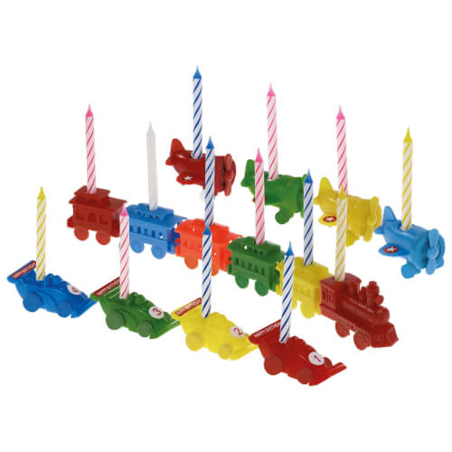 Geburtstags-Kerzenzug sortiert